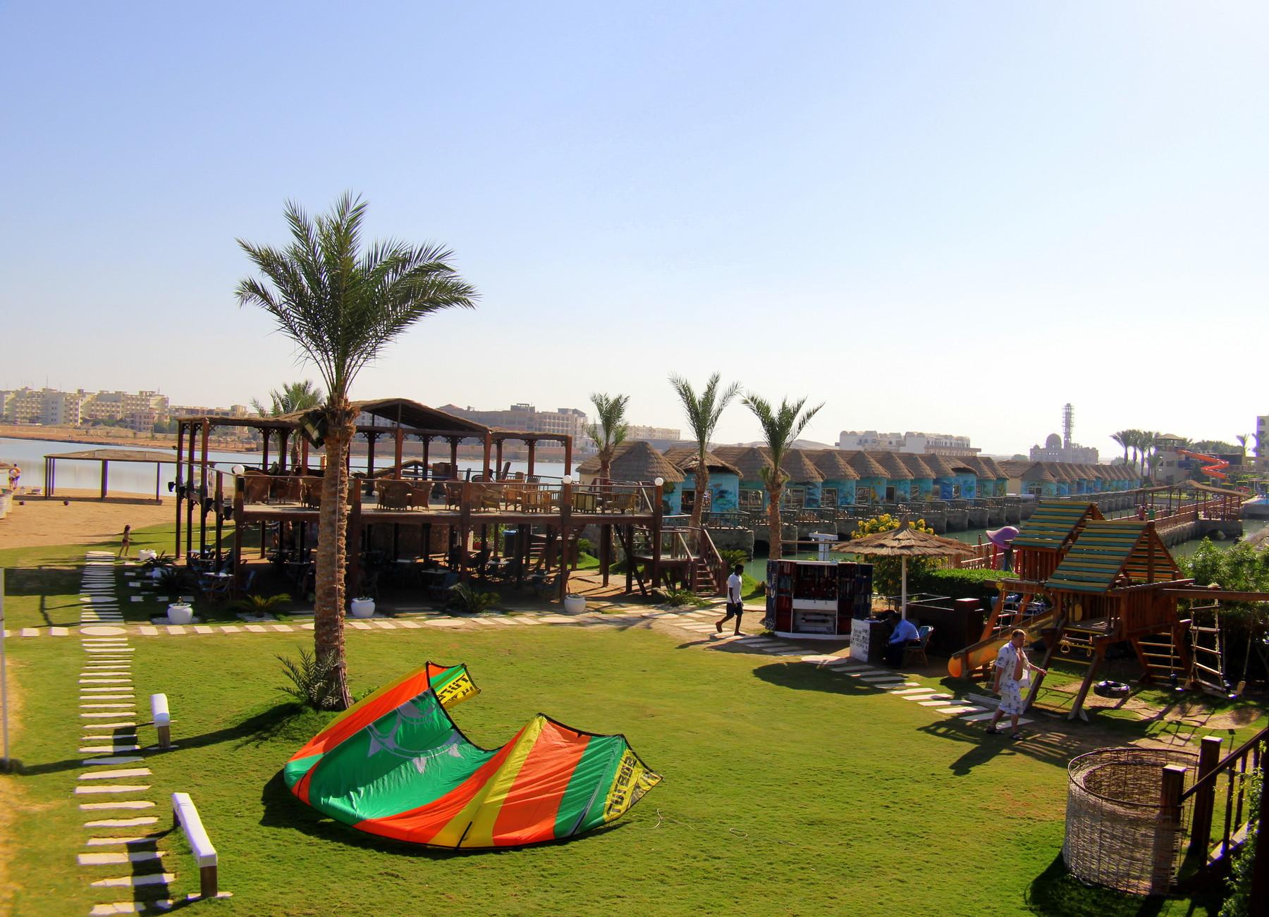 Хургада отель панорама фото